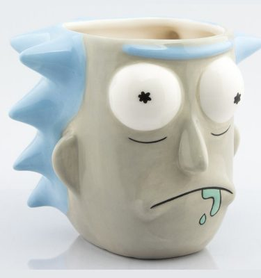 Rick and Morty Taza 3D Rick Sanchez - La Caverna de Voltir