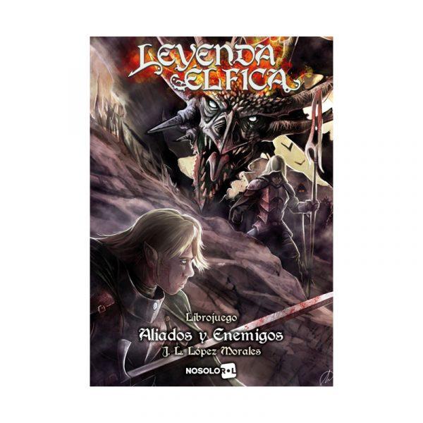 Leyenda Élfica: Aliados y Enemigos -Librojuego- La Caverna de Voltir