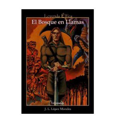 Leyenda Élfica: El Bosque en Llamas - Librojuego- La Caverna de Voltir