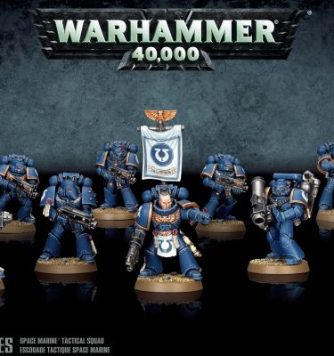 Space Marine Tactical Squad -