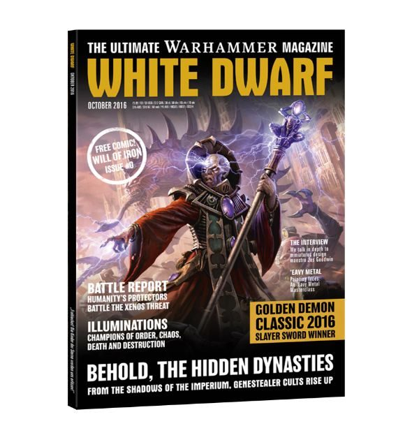 White Dwarf October 2016