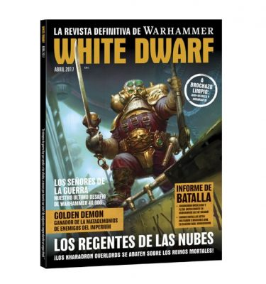 White Dwarf abril 2017 Revista Warhammer
