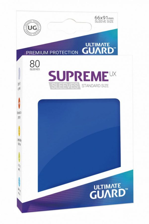 80 Fundas Supreme Estándar Ultimate Guard