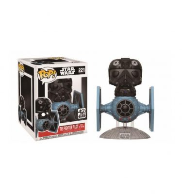 Star Wars - TIE Fighter Pilot with tie Fighter - Funko Pop