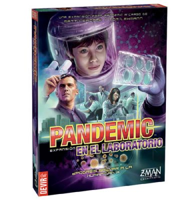 Pandemic en el laboratorio - Devir