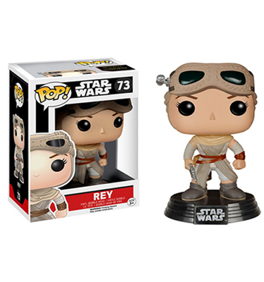 Funko Pop! Star Wars Rey *Exclusivo* - La Caverna de Voltir