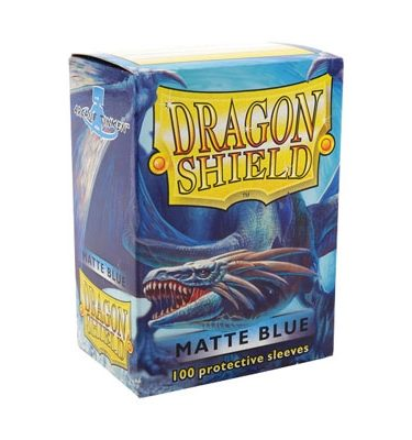 Fundas Blue Matte Dragon Shield - La Caverna de Voltir