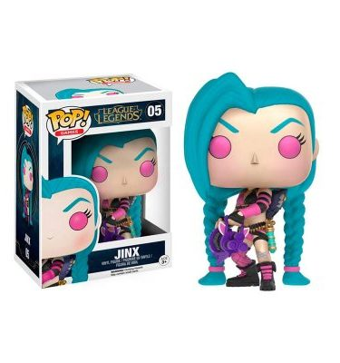 Jinx League of Legends Funko Pop - La Caverna de Voltir