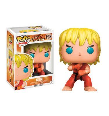 Ken Street Fighter Funko Pop! - La Caverna de Voltir