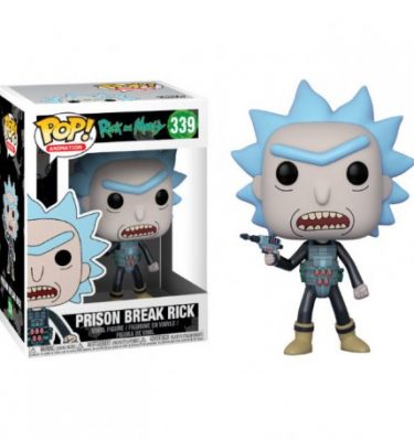 Prison Break Rick and Morty Funko Pop! - La Caverna de Voltir