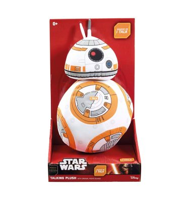 BB8 Funko Premium Talking Plush Star Wars - La Caverna de Voltir