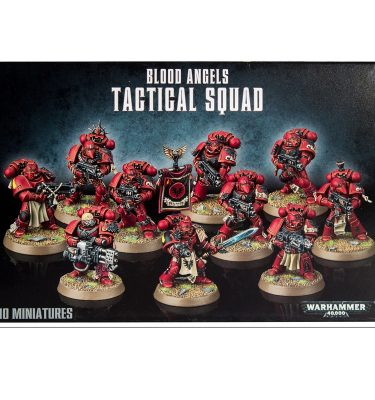 Blood Angels Tactical Squad - La Caverna de Voltir