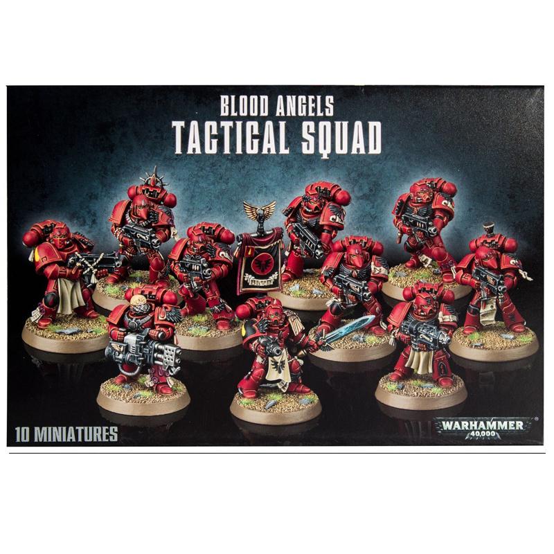 Blood Angels Tactical Squad - La Caverna de Voltir