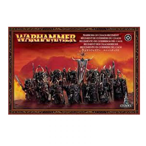 Warriors of Chaos Regiment - La Caverna de Voltir