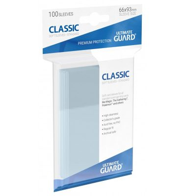 100 Fundas de cartas Estandar Ultimate Guard