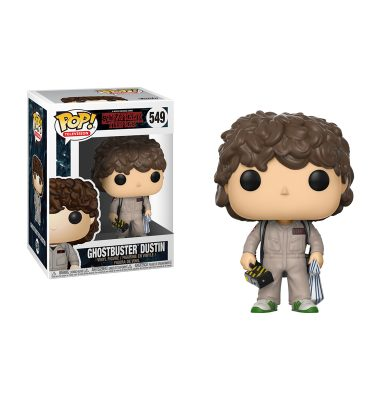 Stranger Things - Dustin Ghostbusters - Funko Pop!