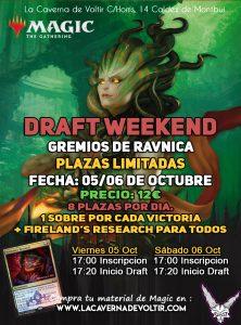 Draft Weekend Gremios de Rávnica @ La Caverna de Voltir
