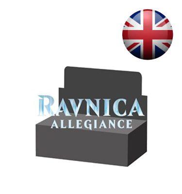 La Lealtad de Rávnica Caja 36 Sobres Inglés