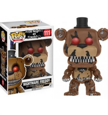 Five Nights at Freddy's Nightmare Freddy Funko Pop - La Caverna de Voltir