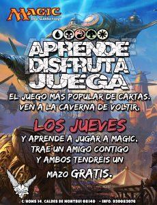 Aprende a jugar a Magic the Gathering @ La Caverna de Voltir | Caldes de Montbui | Catalunya | España