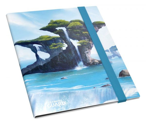 Carpeta FlexXfolio Ultimate Guard 9 pocket Lands Edition Isla I