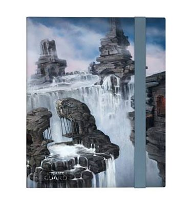 Carpeta FlexXfolio Ultimate Guard 9 pocket Lands Edition Isla II - La Caverna de Voltir