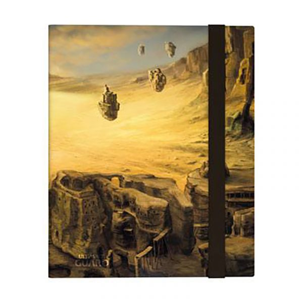 Carpeta FlexXfolio Ultimate Guard 9 pocket Lands Edition Isla II - La Caverna de Voltir