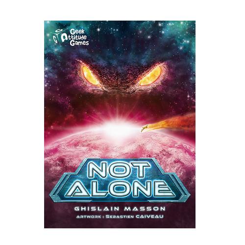 Not Alone Juego de Cartas - La Caverna de Voltir