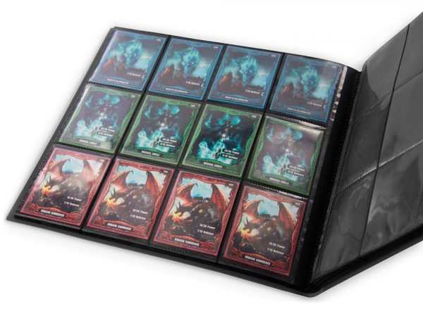 Ultimate Guard 12-Pocket QuadRow FlexXfolio Negro - La Caverna de Voltir