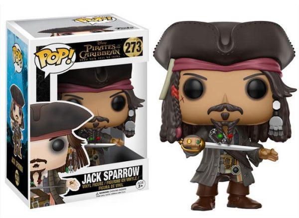 Piratas del Caribe Jack Sparrow Funko Pop!