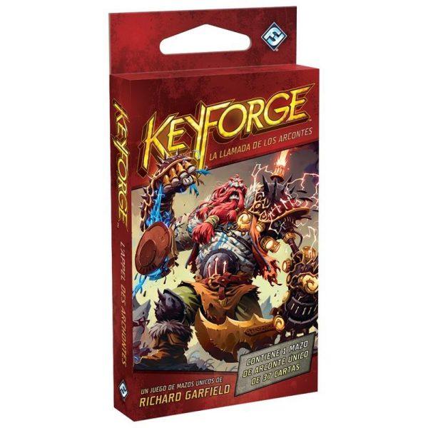 Keyforge La llamada de los arcontes Mazo - La Caverna de Voltir