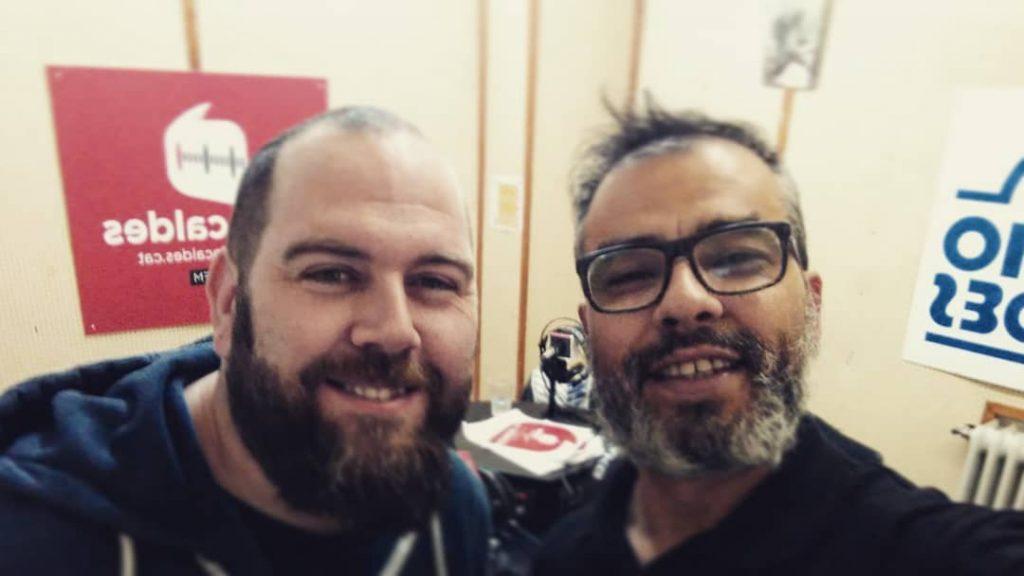 Ivan y José Pinta ràdio i tisores