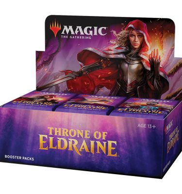 Caja Throne of Eldraine 36 sobres inglés - Magic the Gathering - La Caverna de Voltir