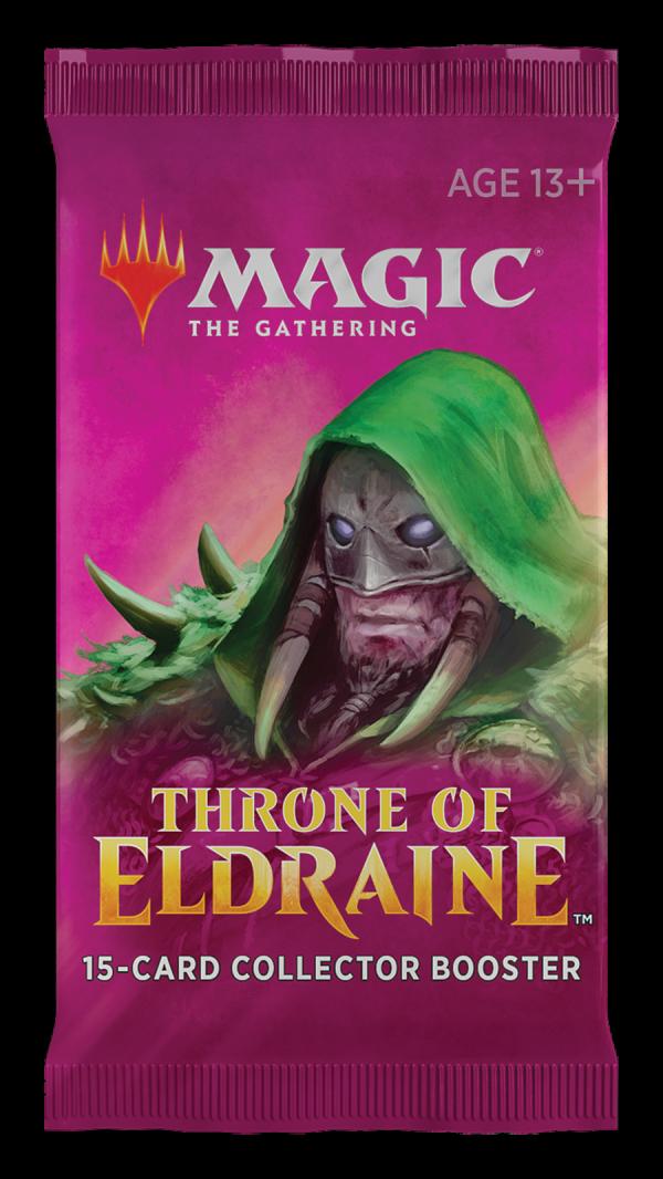 Set 3 Sobre de coleccionista de Throne of Eldraine