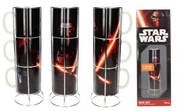 Star Wars Set 3 tazas Kylo Ren