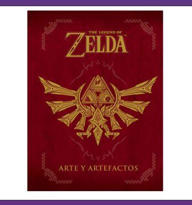 The legend of zelda arte y artefactos- La Caverna de Voltir