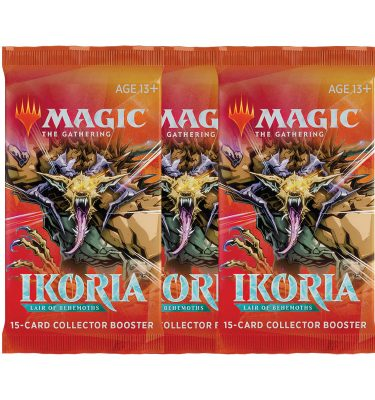 Ikoria: Lair of Behemoths 3 Sobres de coleccionista