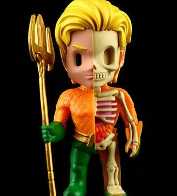 DC Cómics Figura XXRAY Wave 2 Aquaman