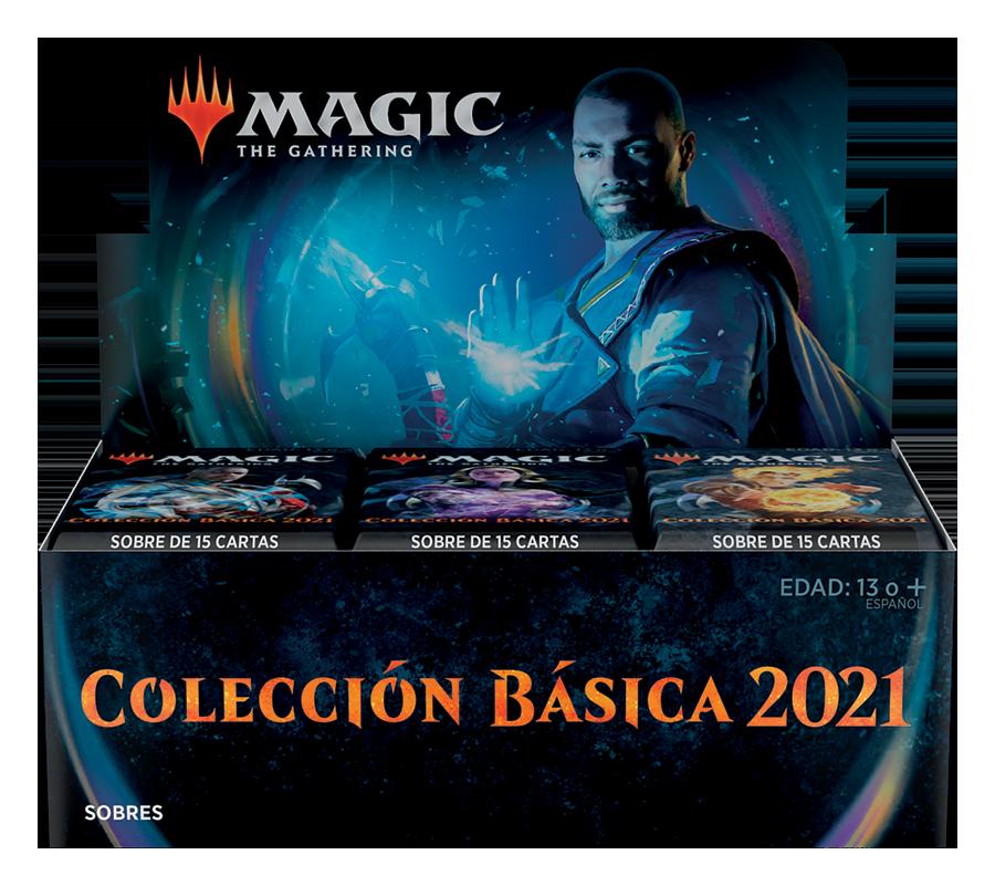 Magic the Gathering Colección básica 2021 (36 sobres español)