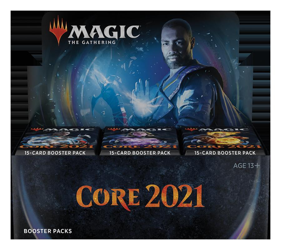 Magic the Gathering Colección básica 2021 (36 sobres inglés)