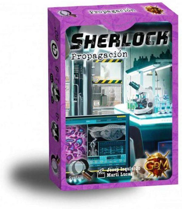 Sherlock - Propagación - Juego de Cartas