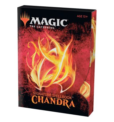 Signature Spellbook Chandra - Magic the Gathering - La Caverna de Voltir