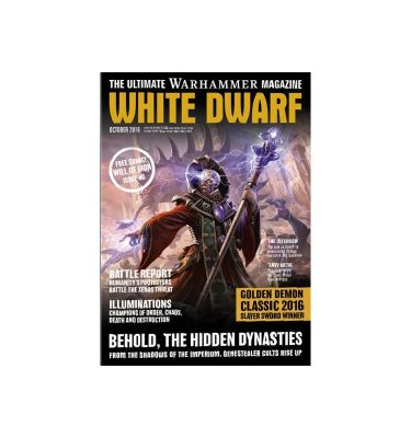 White Dwarf october 2016 Revista Warhammer