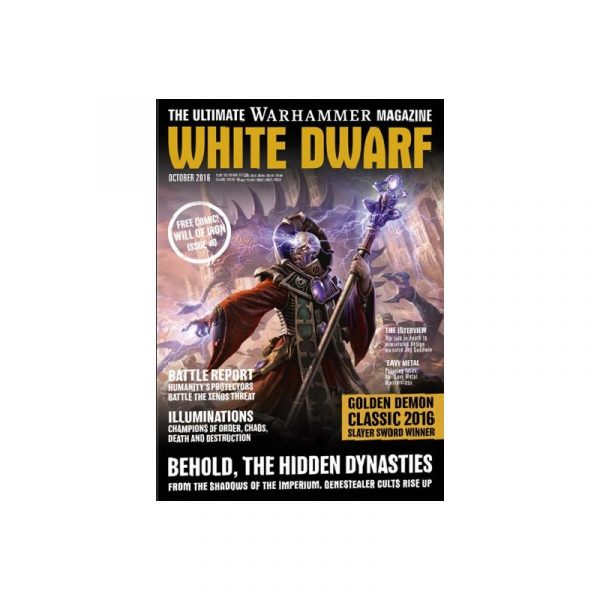 White Dwarf october 2016 Revista Warhammer