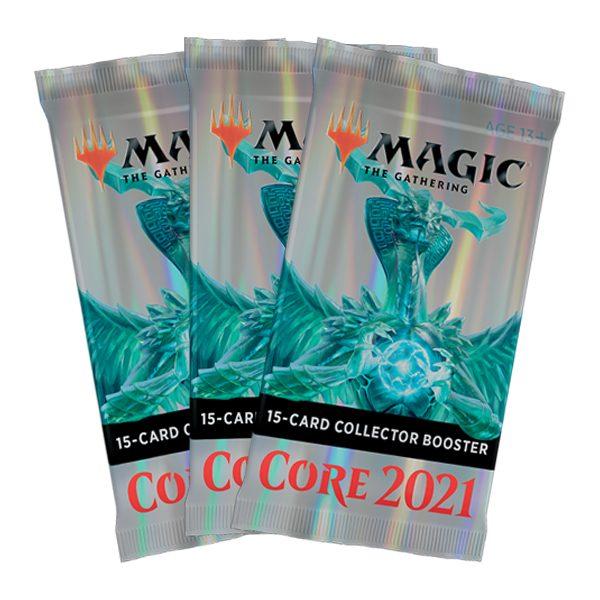 3 Sobre Coleccionista Core Set 2021