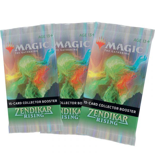 El Resurgir de Zendikar - MTG - 3 Sobres Coleccionista
