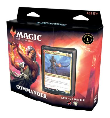 Commander Legends Deck Arm for Batlle - Magic the Gathering - La Caverna de Voltir
