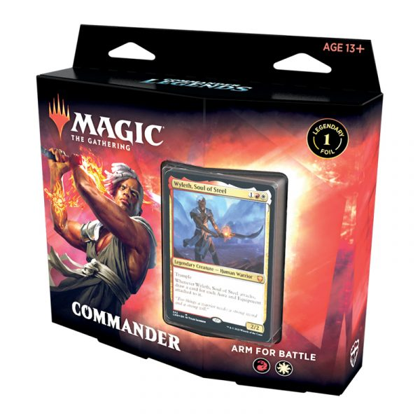 Commander Legends Deck Arm for Batlle - Magic the Gathering - La Caverna de Voltir