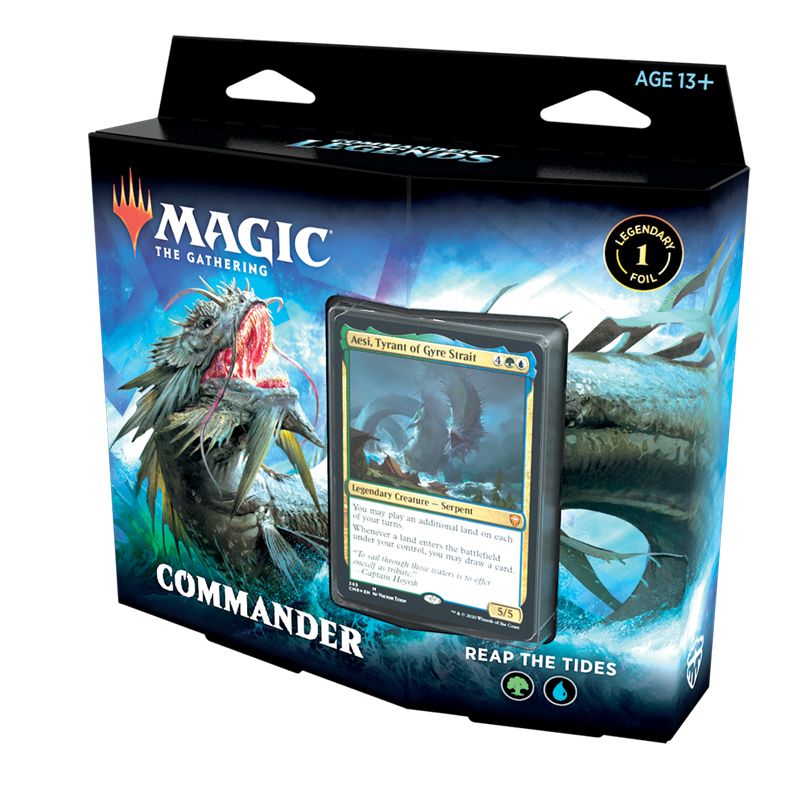 Commander Legends Deck Reap the Tipes - Magic the Gathering - La Caverna de Voltir