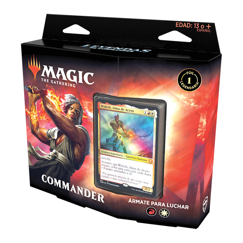 Commander Legends Mazo Ármate para luchar - Magic the Gathering - La Caverna de Voltir